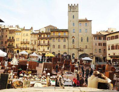 Antiques market Arezzo