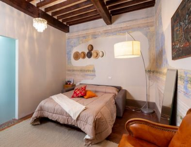 One of the bedrooms of Bellavista Apartment