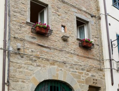 The outside of Casa Giulia