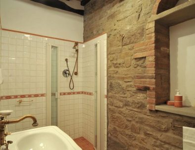 One of the bathrooms