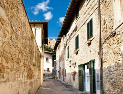 Street to Casa Stella