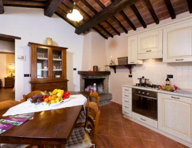 The kitchen in the annex