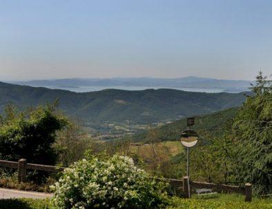 The view from Casale della Pietra