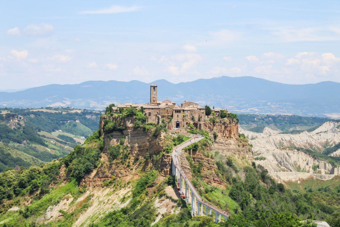 Orvieto and civita di bagnoregio tour