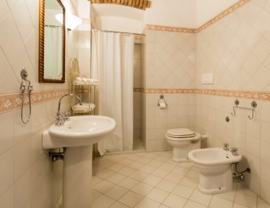 The bathroom in the Terrace (unit 3)