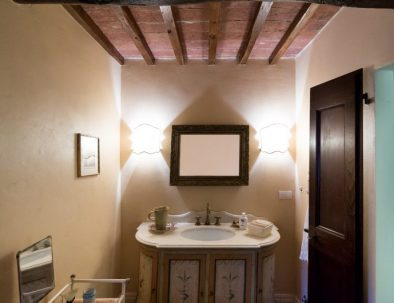 One of the bathrooms in the main villa (unit 1)