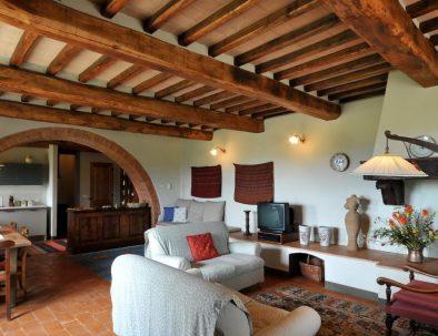 The living room in apartment Luna (unit 2)