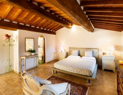 One of the bedrooms in the first unitTuscan-countryside-rental_38