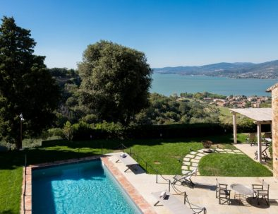 The view from Villa Torricella